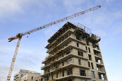 Immeuble en construction à Rennes