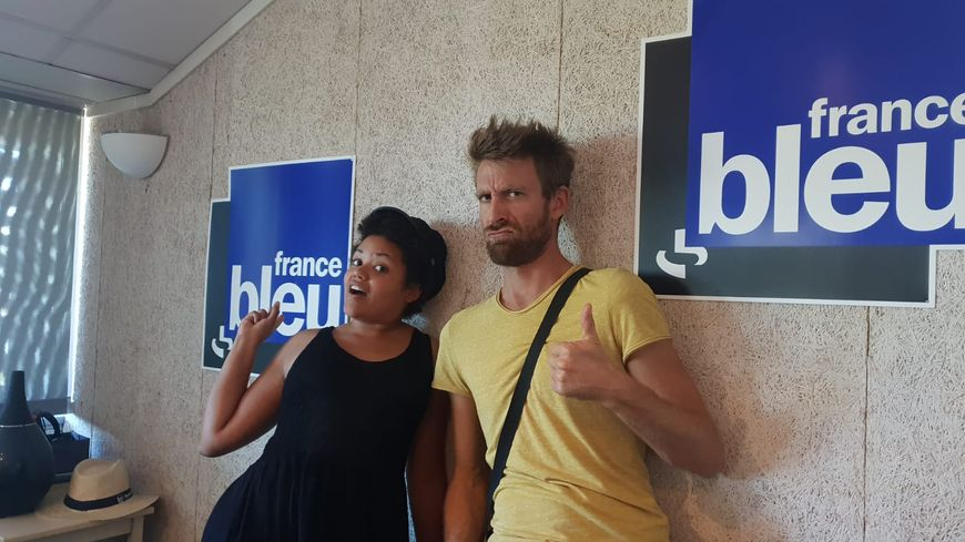 Rebecca M'Boungou et Arnaud Estor ont formé Kolinga en 2015 au Pays basque