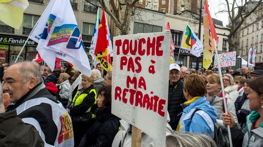 Les retraités ont beaucoup manifesté contre la hausse de la CSG.