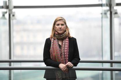 Dana Hastier photographiée à France Televisions