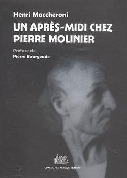 Ouvrage Un après-midi chez Pierre Molinier d'Henri Maccheroni