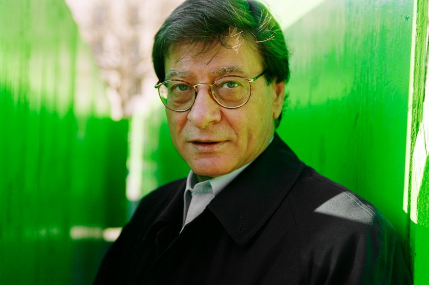 Mahmoud Darwich, à Paris en 2001