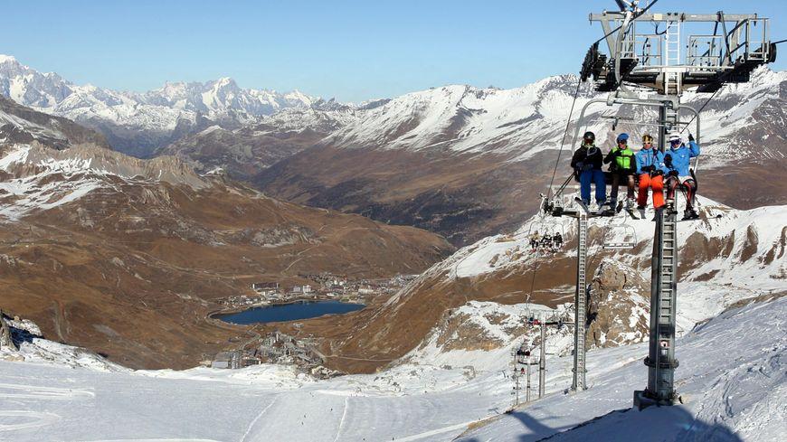 Il n'y a pas assez de neige cette semaine pour ouvrir le glacier aux skieurs (archives)