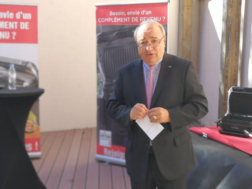Thierry de la Tour d'Artaise, président-directeur général du Groupe Seb