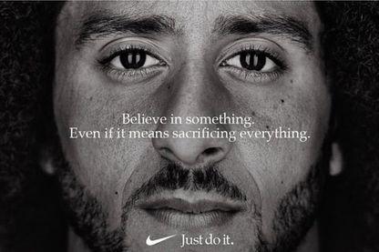 La nouvelle campagne de publicité de Nike, avec Colin Kaepernick