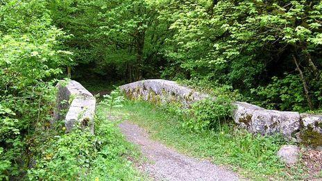 Le pont d'Evian à Bioge dans le Chablais retenu par la mission patrimoine de Stéphane Bern