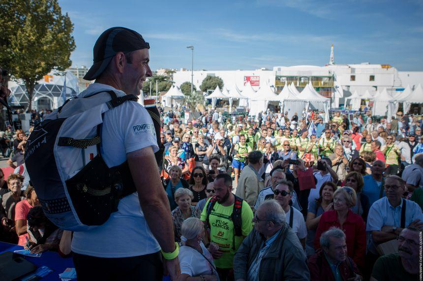 """La course de 756 kilomètres est au profit de l'association """"Pour le Fil d'Ariane"""""""