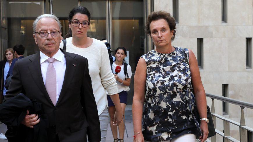 Sylvia Pastor, partie civile au procès des dix accusés impliqués dans une association de malfaiteurs et le meurtre de sa mère
