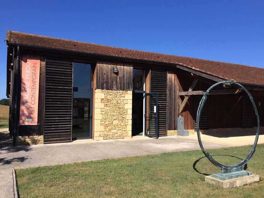 La galerie d'art contemporain du Domaine Perdu à Meyrals
