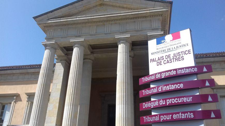 Le Palais de justice de Castres.