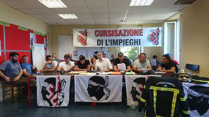 Les pompiers STC de Haute Corse tirent la sonnette d'alarme