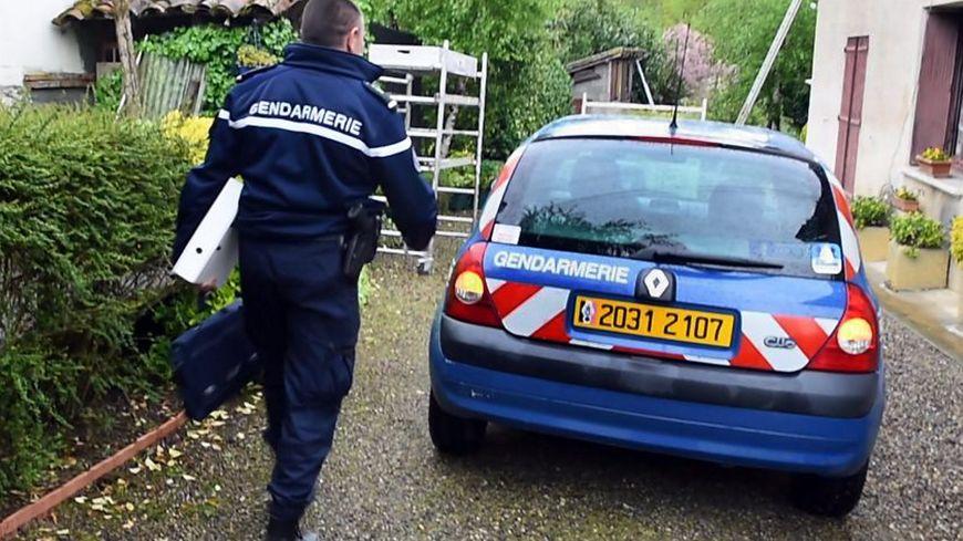 Intervention des gendarmes