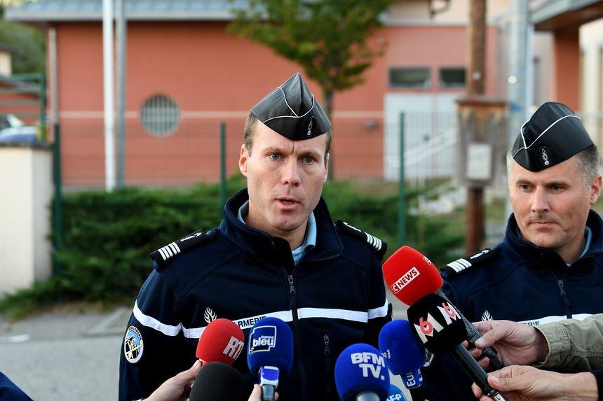 Le colonel Yves Marzin, commandant le groupement de gendarmerie de l'Isère,