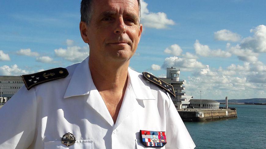 Le vice-amiral d'escadre Pascal Ausseur a passé trois ans à la tête de la préfecture maritime de la Manche et de la Mer du Nord