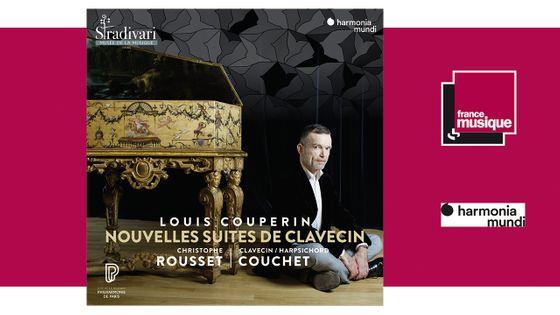 Louis Couperin : Nouvelles Suites de clavecin par Christophe Rousset chez harmonia mundi