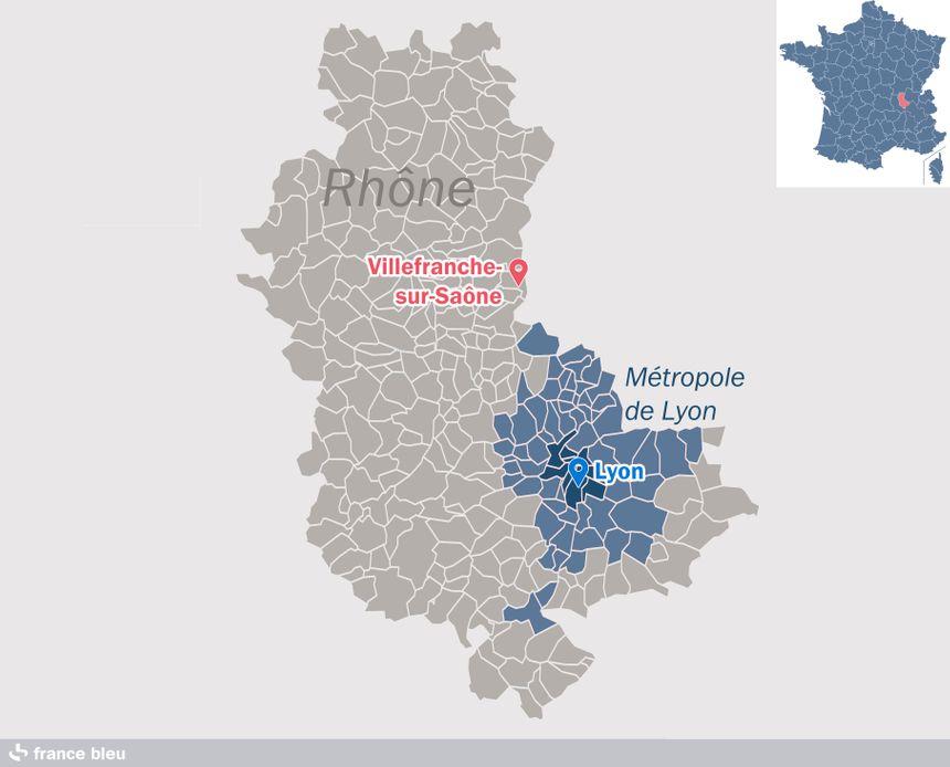 Lyon et sa métropole