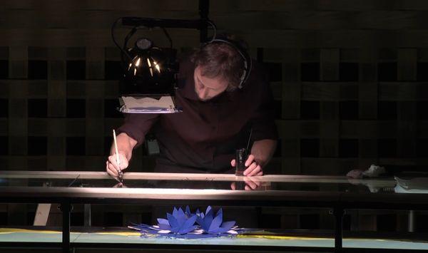 Guillaume Carreau, dessin en direct