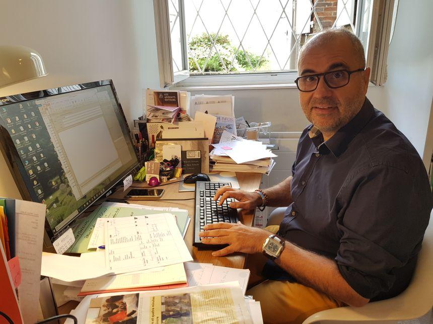 Jean-Marc Ferrer, le Directeur des Ardents Editeurs