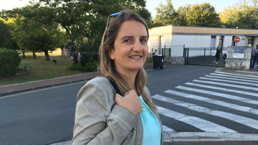 Marine Lopez, mère de famille et professeur