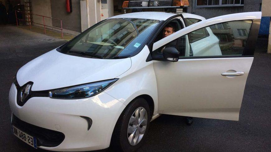 La voiture Lapi en service à Brest