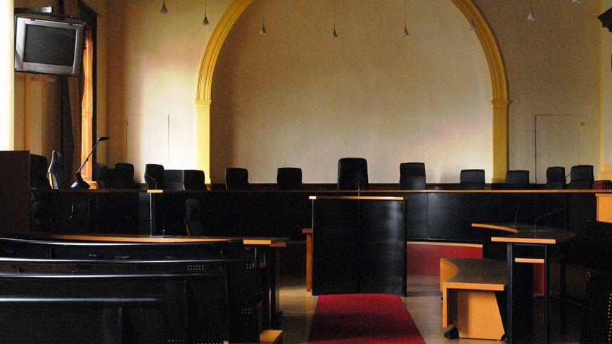 La salle d'audience du tribunal correctionnel de Châteauroux