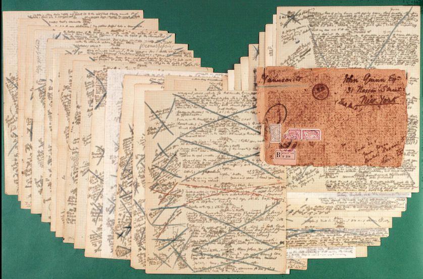 Manuscrits de Ulysse de James Joyce