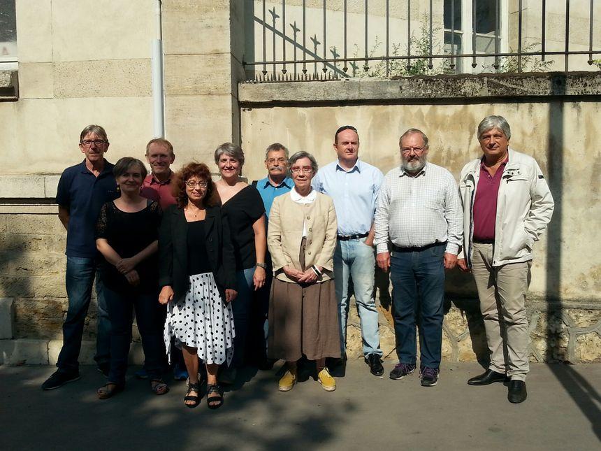 Les élus et membres du collectif Le Bien Commun