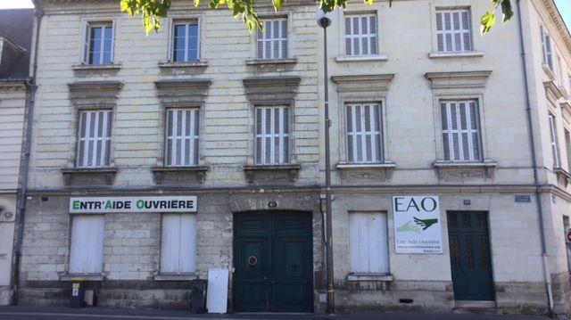 Le bâtiment d'Entraide Ouvrière