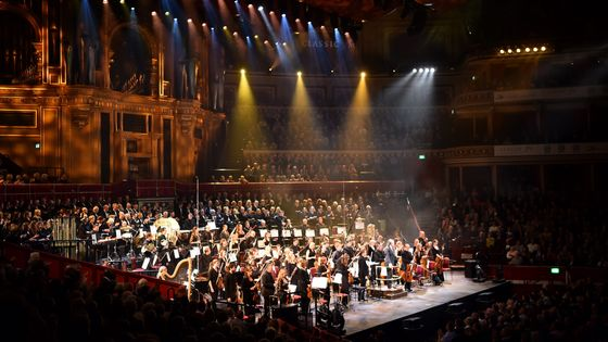 L'orchestre symphonique de Bournemouth en 2017 au Royal Albert Hall de Londres
