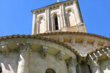 L'église de Melle