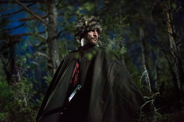 """Joaquin Phoenix, sur le tournage des """"Frères Sisters"""", le western du cinéaste français Jacques Audiard (sortie le 19 septembre 2018)"""