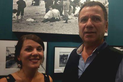 Michelt Dautel et sa fille Elisa au salon Maison et objet