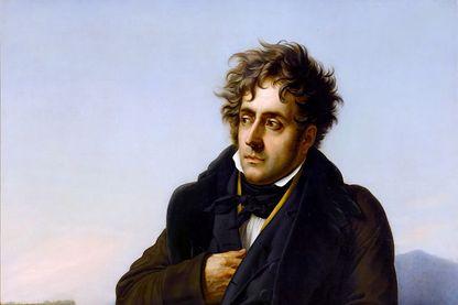 Portrait de Chateaubriand par Anne-Louis Girodet