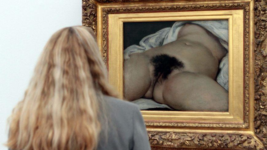 """""""L'origine du monde"""" de Gustave Courbet peint en 1886"""