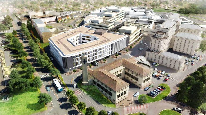 4a9fa8aac0b2d2 Voici à quoi l hôpital va ressembler une fois les travaux terminés.