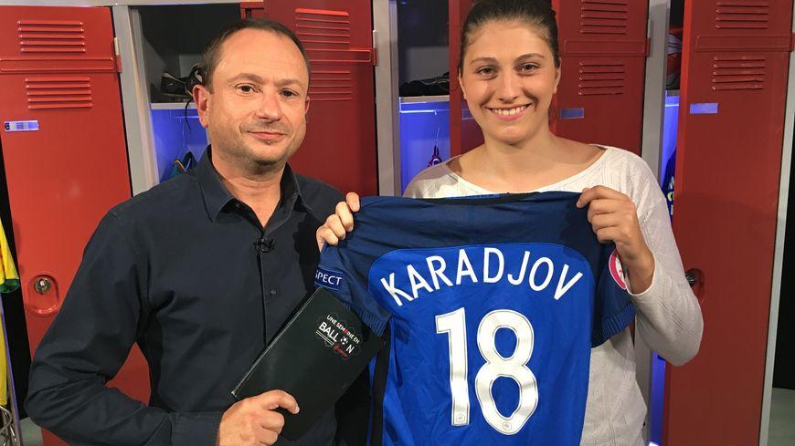 Catherine Karadjov de Étoile Sportive Ornaysienne Football à La Roche-sur-Yon