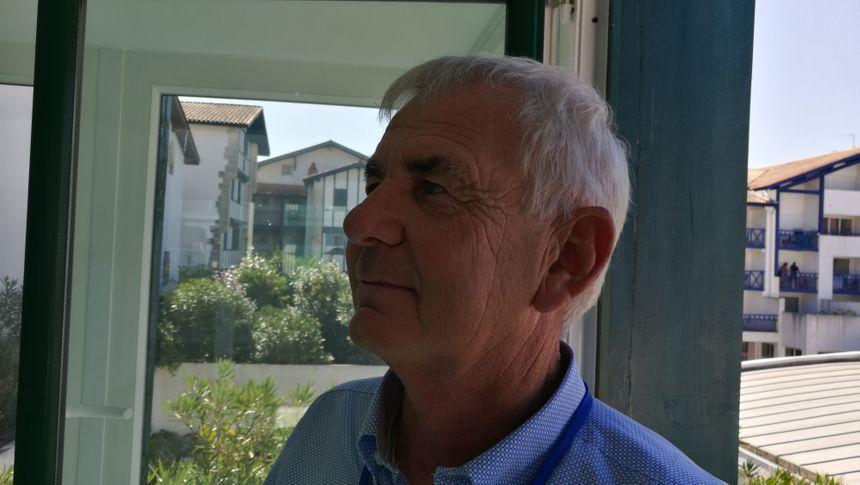 Bernard Gourgand, en charge des infrastructures et du patrimoine au Conseil Départemental