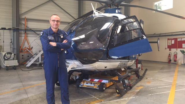 Thierry Baheut, le nouveau commandant de la SAG