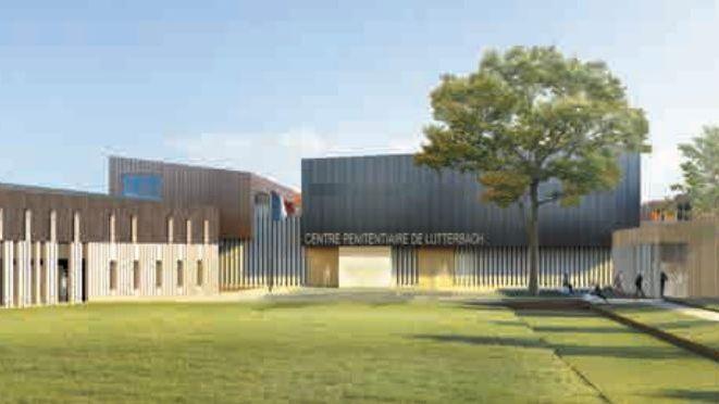 Le centre pénitentiaire de Lutterbach doit remplacer les prisons de Colmar et de Mulhouse.