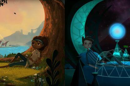 Un jeu vidéo qui raconte l'étrange aventure croisée de deux jeunes héros que tout oppose