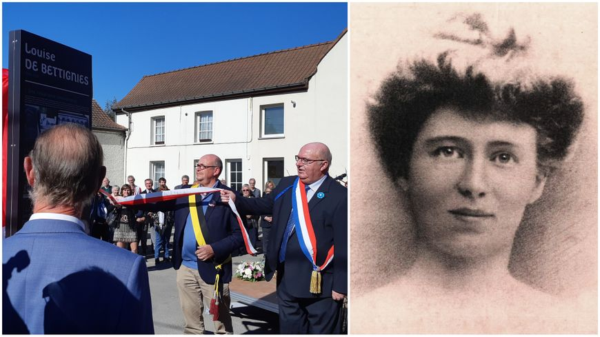 Trois cérémonies avaient lieu ce jeudi 27 septembre pour le centenaire de la mort de Louise de Bettignies