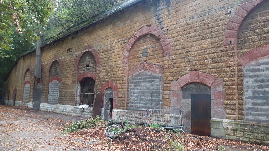 Les anciens frigos militaires de Metz aujourd'hui à l'abandon