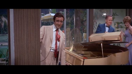 Peter Sellers, extrait de The Party, de Blake Edwards, Metro Goldwyn Mayer, 1968