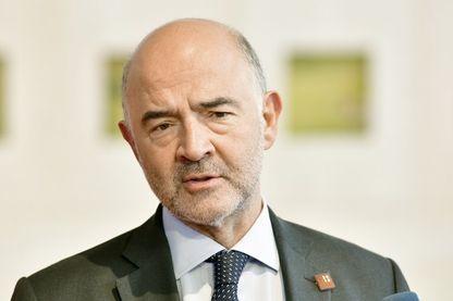 Pierre Moscovici, commissaire européen aux Affaires économiques et monétaires