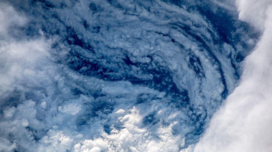 L'ouragan Florence vue du ciel.