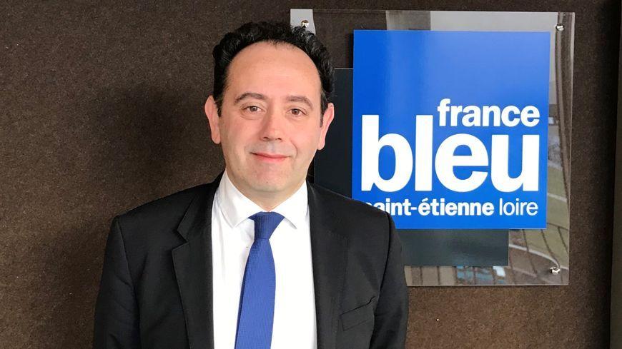 Michael Galy, directeur général du CHU de Saint-Etienne.