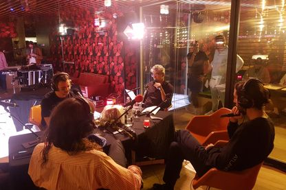 Lomepal, Flavien Berger, Zed Yun Pavarotti et Didier Varrod