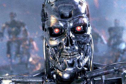 Dans le film Terminator, un robot humanoïde le T800 est programmé pour éliminer toute résistance humaine