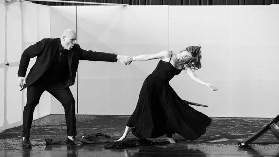 Bérénice en répétition (saison 18/19) - Bo Skovhus (Titus), Barbara Hannigan (Bérénice)