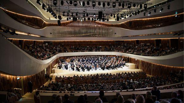 Inauguration du Zaradye Concert Hall à Moscou